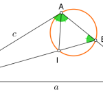 An equivalence relation in a triangle